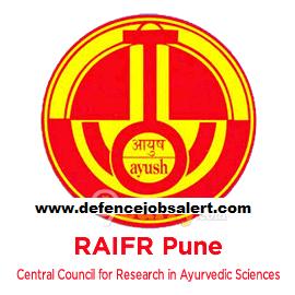 RAIFR Pune Recruitment