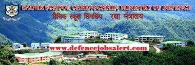 Sainik School Chhingchhip Recruitment