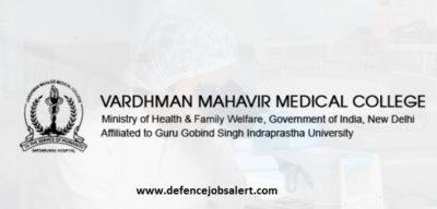 VMMC Safdarjung Hospital Recruitment