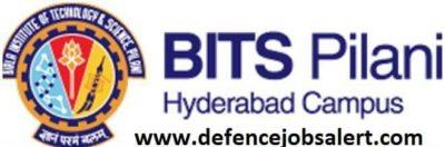 BITS Pilani Hyderabad Recruitment