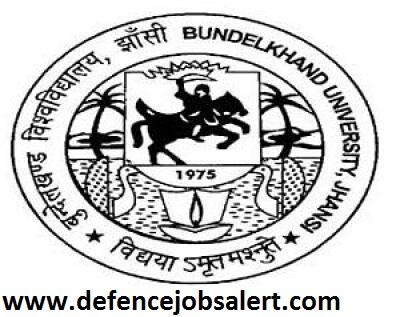 BU Jhansi Recruitment