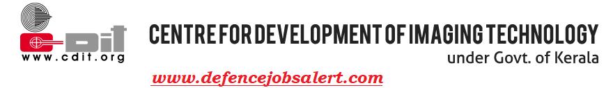 CDIT Recruitment