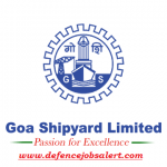 Goa Shipyard Recruitment 2021 - Apply Online For 06 Dy General Manager, Senior Manager And Deputy Manager Vacancies