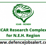 ICAR NEH Region Recruitment