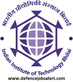 IIT Bhilai Recruitment