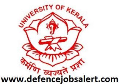 Kerala University Recruitment