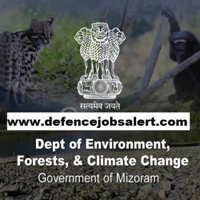 Mizoram Forest Recruitment