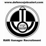 RARI Itanagar Recruitment