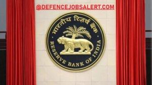 RBI Bank Recruitment