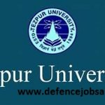 Tezpur University Recruitment 2020 Govt Jobs In University of Tezpur
