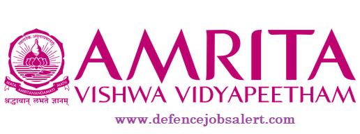 Amrita Vishwa Vidyapeetham Recruitment
