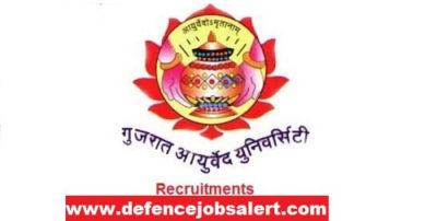 Gujarat Ayurved University Recruitment