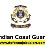 Indian Coast Guard Recruitment 2021 - Latest Jobs Notification In Indian Coast Guard