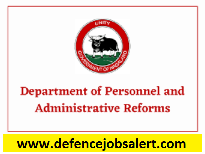 Manipur Personnel & Administrative Reforms Dept Recruitment