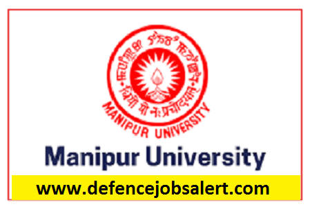 Manipur University Recruitment