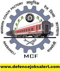 Modern Coach Factory Raebareli Recruitment