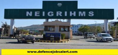 NEIGRIHMS Recruitment
