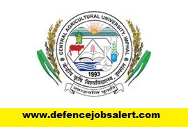 CAU Imphal Recruitment
