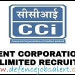 Cement Corporation Recruitment 2020 - Latest Jobs Notification In Cement Corporation Of India Limited