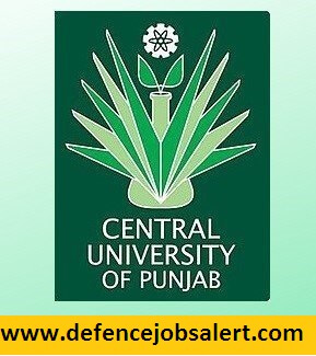 Central University of Punjab Recruitment
