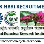 NBRI Recruitment 2021 Walk in For Project Associate I, II & Lab Technician Posts