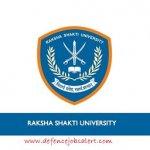 Raksha Shakti University Recruitment 2021 - Latest Jobs Notification In Raksha Shakti University