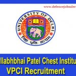 VPCI Recruitment 2021 Apply Offline For Junior Research Fellow & Project Attendant Posts