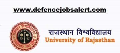 Rajasthan University Recruitment