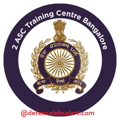 2 ASC Training Centre Bangalore Recruitment