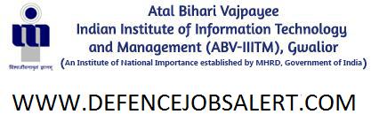 ABV-IIITM-Gwalior-Recruitment