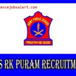 APS RK Puram Recruitment 2021 - Apply For MTS, UDC & LDC Vacancies