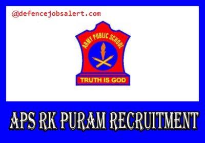 APS RK Puram Recruitment
