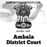 Ambala Court Recruitment 2021- Stenographer Grade-III Vacancies