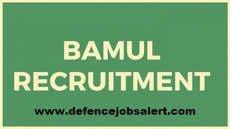 BAMUL Recruitment