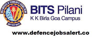 BITS Pilani Goa Recruitment