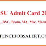 Bikaner University Admit Card 2021 | Download बीकानेर विश्वविद्यालय प्रवेश पत्र