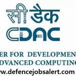 CDAC Pune Recruitment 2021 Govt Jobs In Centre for Development of Advanced Computing