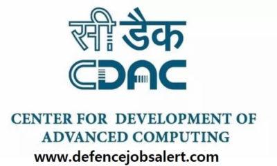 CDAC Pune Recruitment