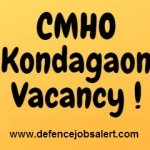 CMHO Kondagao Recruitment 2021 Apply Offline For DEO, Staff Nurse, ANM & Other Vacancies