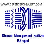 DMI Bhopal Recruitment 2021 Govt Jobs In Disaster Management Institute