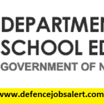 DSE Nagaland Recruitment 2021 - Latest Jobs Notification In Directorate of School Education Nagaland