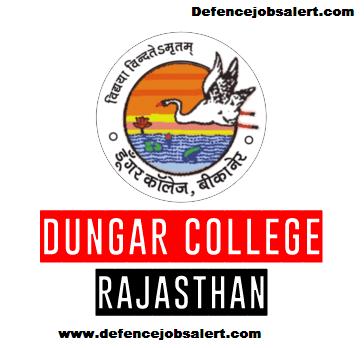 Dungar College Recruitment
