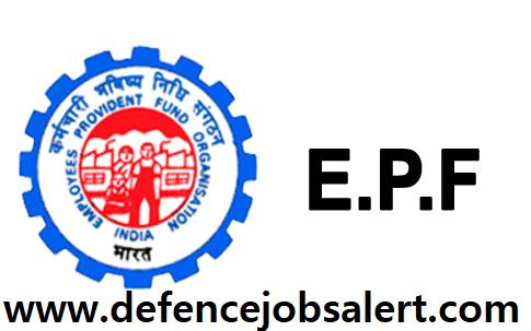EPFO Recruitment