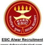 ESIC Alwar Recruitment