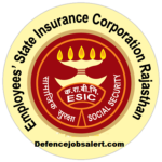 ESIC Rajasthan Recruitment 2021 - Latest Vacancies Notification @esic.in