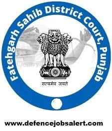 Fatehgarh Sahib District Court Recruitment