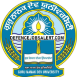 GNDU Recruitment