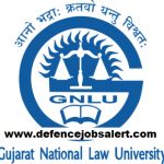 GNLU Recruitment 2021 - Latest Jobs Notification In Gujarat National Law University