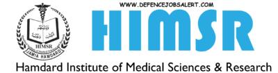 HIMSR Recruitment