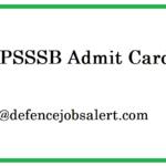 HPSSSB Admit Card 2021 | Download हिमाचल प्रदेश कर्मचारी चयन आयोग प्रवेश पत्र